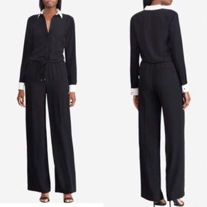 NWT Ralph Lauren Black Pantsuit